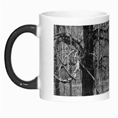 Black and White Forest Morph Mug by Elanga