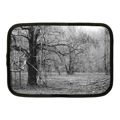 Black And White Forest 10  Netbook Case by Elanga