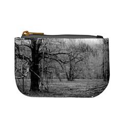 Black And White Forest Coin Change Purse