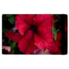Red Peonies Apple Ipad 2 Flip Case by Elanga