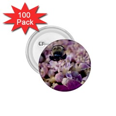 Flying Bumble Bee 100 Pack Small Button (round) by Elanga
