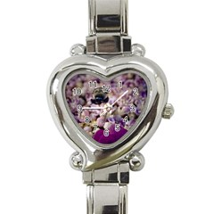 Flying Bumble Bee Classic Elegant Ladies Watch (heart) by Elanga