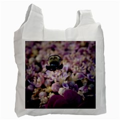 Flying Bumble Bee Twin Sided Reusable Shopping Bag by Elanga