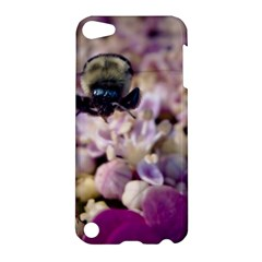 Flying Bumble Bee Apple Ipod Touch 5 Hardshell Case by Elanga