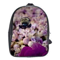 Flying Bumble Bee School Bag (xl) by Elanga