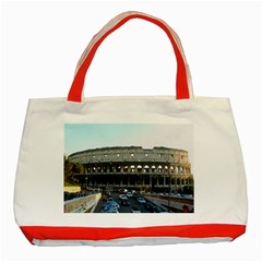 Roman Colisseum Red Tote Bag by PatriciasOnlineCowCowStore
