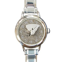 Quarter Of A Sand Dollar Classic Elegant Ladies Watch (round) by Elanga