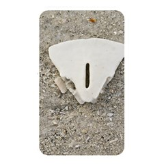Quarter Of A Sand Dollar Card Reader (rectangle) by Elanga