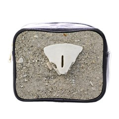 Quarter Of A Sand Dollar Single Sided Cosmetic Case by Elanga