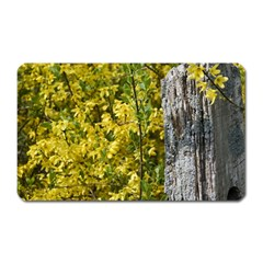 Yellow Bells Large Sticker Magnet (rectangle)