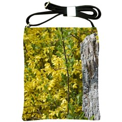 Yellow Bells Cross Shoulder Sling Bag by Elanga