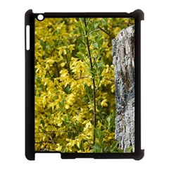 Yellow Bells Apple Ipad 3/4 Case (black) by Elanga