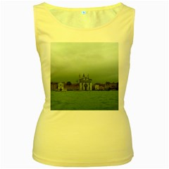 Venice Yellow Womens  Tank Top by PatriciasOnlineCowCowStore