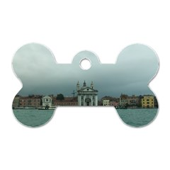 Venice Twin Sided Dog Tag (bone)