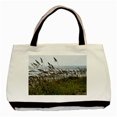 Cocoa Beach, Fl Black Tote Bag