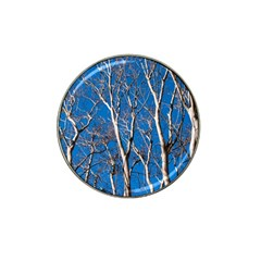 Trees On Blue Sky 10 Pack Golf Ball Marker (for Hat Clip) by Elanga