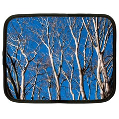 Trees On Blue Sky 13  Netbook Case