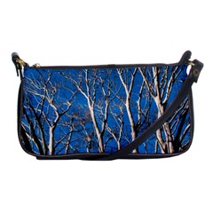 Trees On Blue Sky Evening Bag