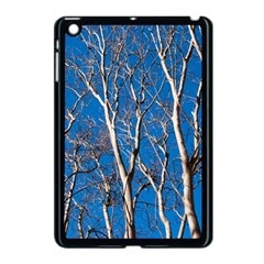 Trees On Blue Sky Apple Ipad Mini Case (black) by Elanga