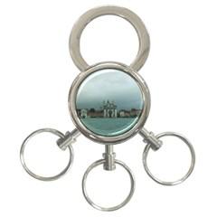 Venice 3 Ring Key Chain