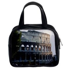 Roman Colisseum 2 Twin Sided Satchel Handbag