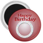 birthday magnet - 3  Magnet