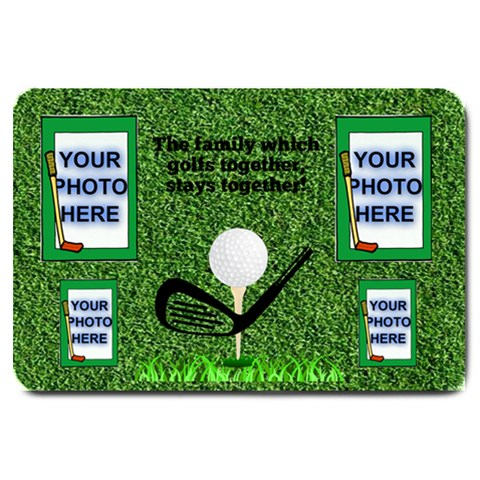 Golfer s Large Door Mat By Joy Johns   Large Doormat   Nftqkd1rmk1x   Www Artscow Com 30 x20 Door Mat - 1