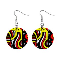 Zee7bbb 1  Button Earrings by bkatsstore