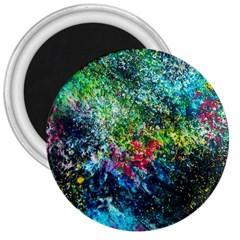 Raw Truth By Mystikka  Large Magnet (round) by mjade