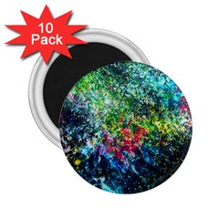 Raw Truth By Mystikka  10 Pack Regular Magnet (round) by mjade