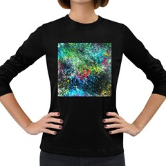 Raw Truth By Mystikka  Dark Colored Long Sleeve Womens'' T Shirt