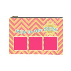 Summer Clutch 3 By Emily   Cosmetic Bag (large)   Nqskfxlg8ah0   Www Artscow Com Front