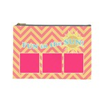 summer clutch 3 - Cosmetic Bag (Large)