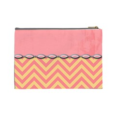 Summer Clutch 3 By Emily   Cosmetic Bag (large)   Nqskfxlg8ah0   Www Artscow Com Back