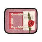 Retro Romantic Netbook Case S - Netbook Case (Small)