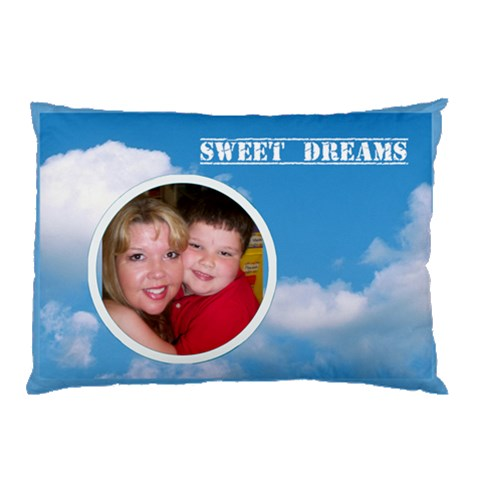 Jordan Sweet Dreams Pillowcase By Eleanor Norsworthy   Pillow Case   Nr09zsudwi5x   Www Artscow Com 26.62 x18.9 Pillow Case