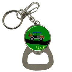 Gone Golfin Key Chain with Bottle Opener by golforever12