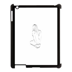 Bound Beauty Apple Ipad 3/4 Case (black) by Deviantly