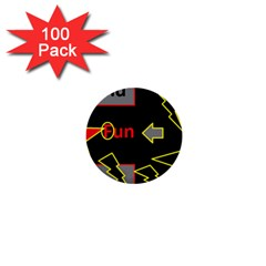 Raymond Fun Show 2 100 Pack Mini Button (round) by hffmnwhly