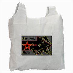 Raymond Fun Show 2 Twin Sided Reusable Shopping Bag by hffmnwhly