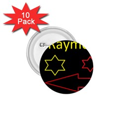 Raymond Tv 10 Pack Small Button (round)