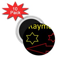 Raymond Tv 10 Pack Small Magnet (Round) by hffmnwhly