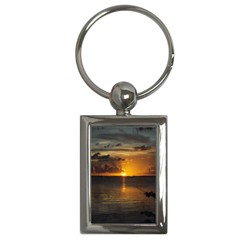 Sunset Key Chain (Rectangle) by awesomeamyspics