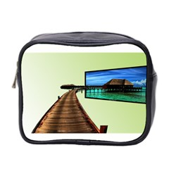 Virtual Tv Twin Sided Cosmetic Case