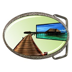 Sony Tv Belt Buckle (oval)