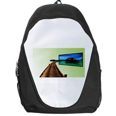 Sony Tv Backpack Bag by anasuya