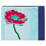 flower    own photo (optional)  XXXL makeup bag - Cosmetic Bag (XXXL)