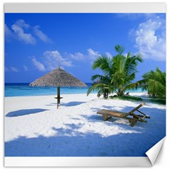 Beach 16  X 16  Unframed Canvas Print