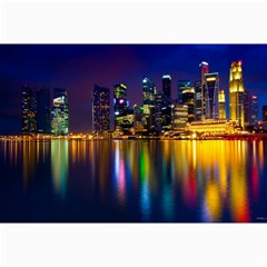 Night View 16  X 20  Unframed Canvas Print by Unique1Stop