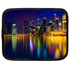 Night View 12  Netbook Case